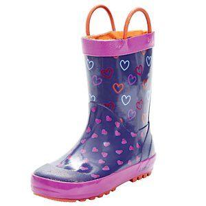 Kamik Unisex Child Cherish Rain Boot
